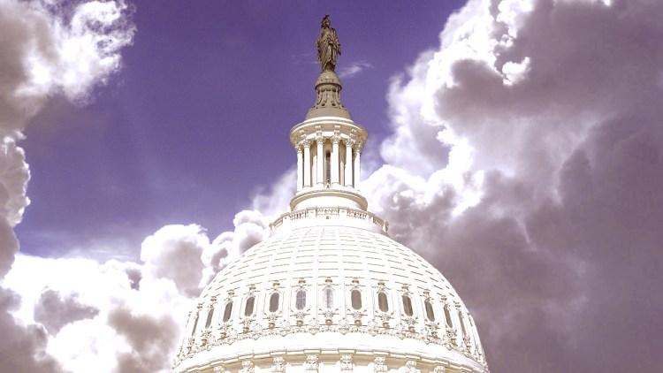 Capitol Washington Dome Congress Usa Government