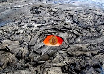 Molten Heat Hot Crust Lava Volcanic Window