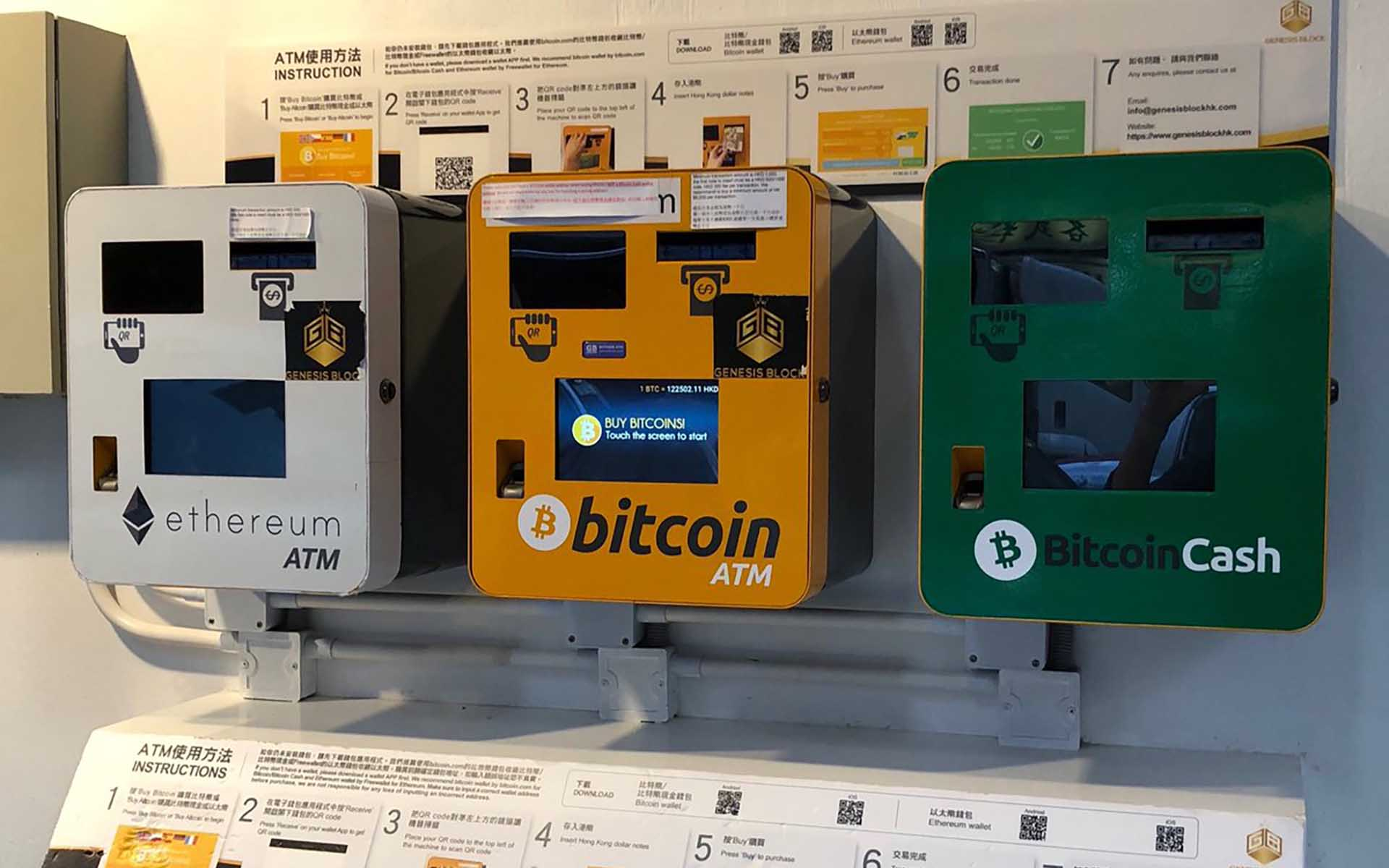 The Number Of Cryptocurrency ATMs Worldwide Reaches 4,000