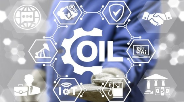 blockchain-oil industry