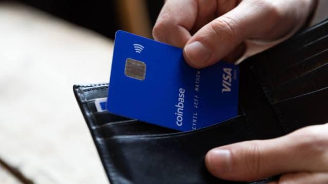 coinbase card