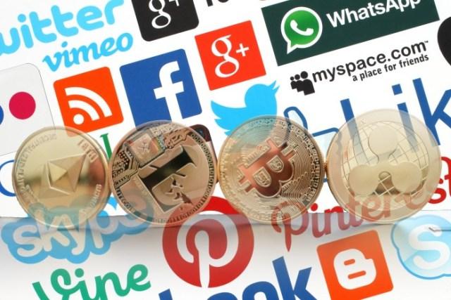 Crypto-Social media
