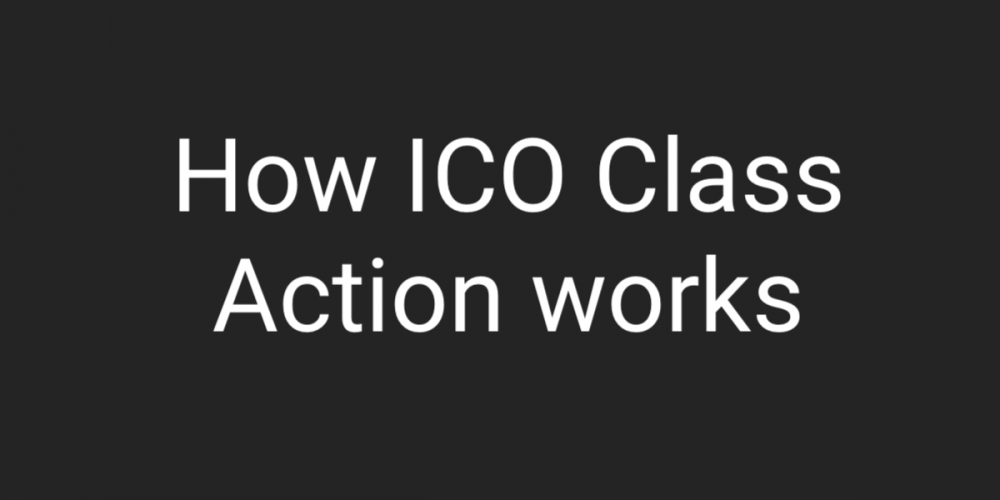 ICO Class Action