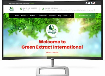 green extract products website