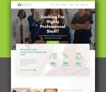 Tendcare Website Landing Page