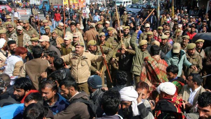 مجرم کے حق میں ریلی..فرقہ پرستوں کا اصل چہرہ بے نقاب