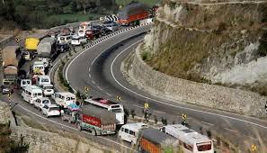سرینگرجموں شاہراہ ٹریفک کے لئے بحال