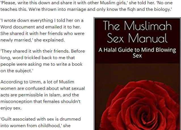 muslim sex manuel