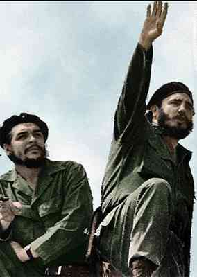 An image of Che and Fidel Castro