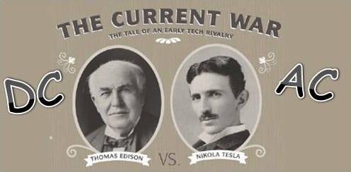 "What was the 'war of currents"" between Thomas Alva Edison And Nikola Tesla? DailyJag.com"
