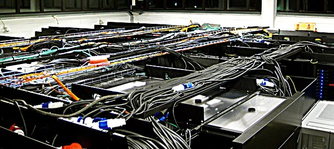 Server room Picture courtesy Wikipedia