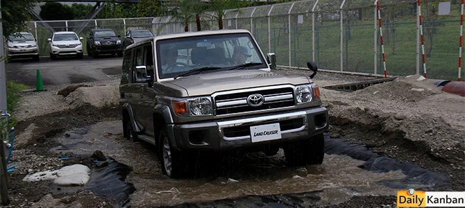 Land Cruiser 70 special edition -outdoor- picture courtesy Bertel Schmitt