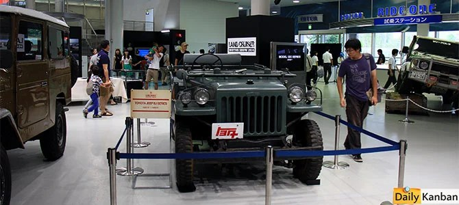 Toyota Jeep BJ Series F1951-1955 - picture courtesy Bertel Schmitt