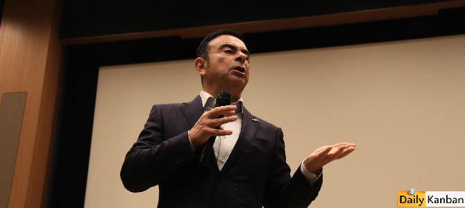 Carlos Ghosn  Japan Chamber of Commerce -10- Picture courtesy Bertel Schmitt