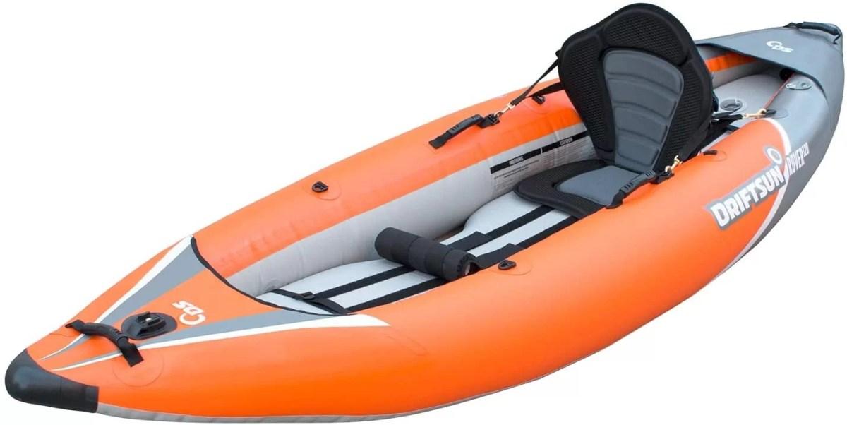 Driftsun Rover 220 Inflatable Water Kayak