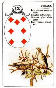 birds lenormand 12