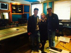 Mastering in STC Studio hos Frank