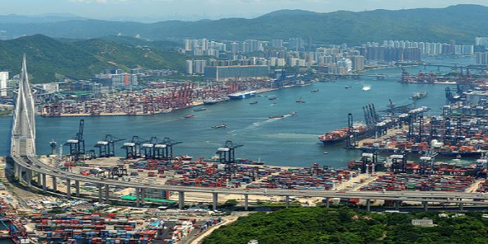 world largest ports-hong kong port-dailylogistic.com