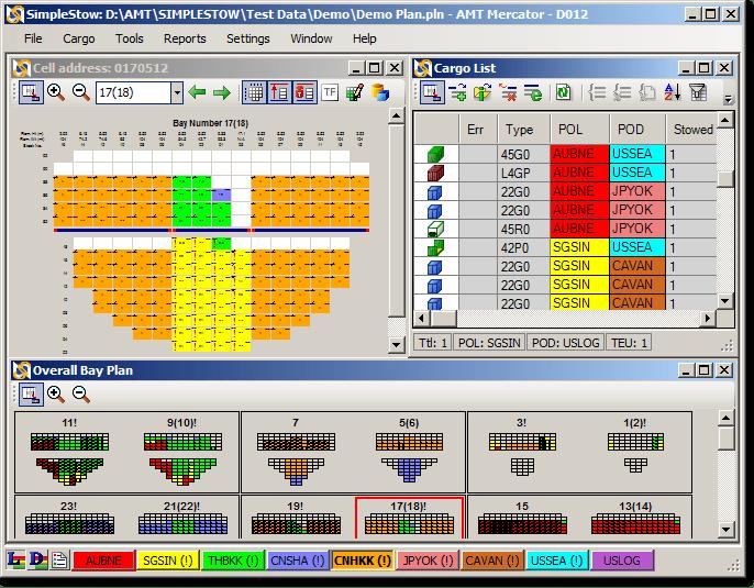 Stowage plan software Daily Logistics
