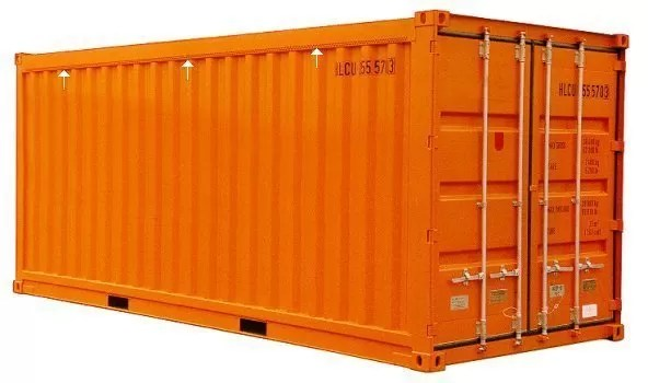 Ventilated container -shipping container daily logistics