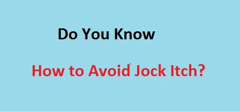 Jock Itch and How to Avoid It