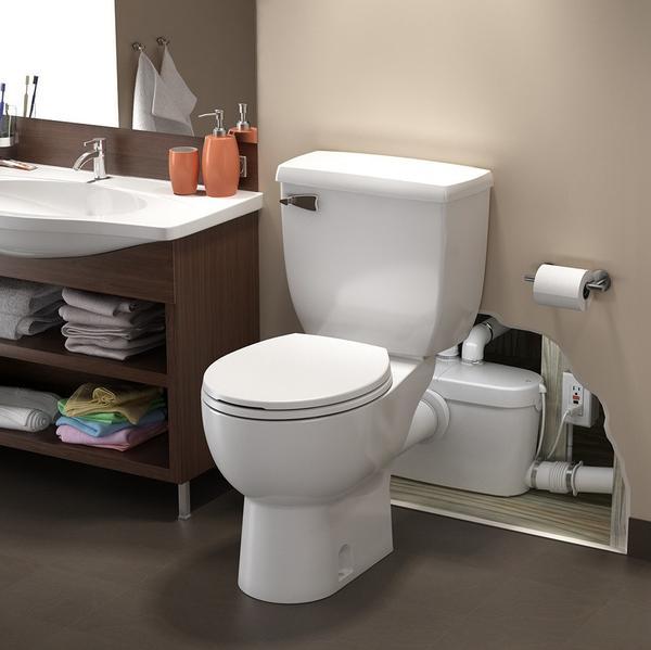 The Fascinating World of Upflush Toilets