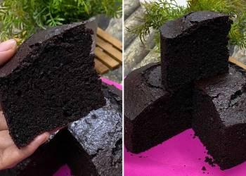 Kek Coklat Mudah