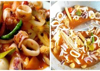 resep sotong paprik