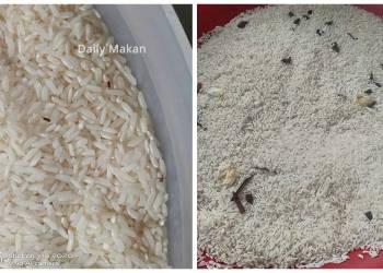 petua hilangkan kutu beras