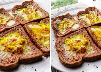 resepi roti telur cheese