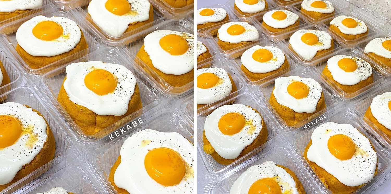 Ini Cara Buat Kek Telur Mata Viral Nampak Macam Telur Kuning Tapi Bukan Dia Rupanya Daily Makan