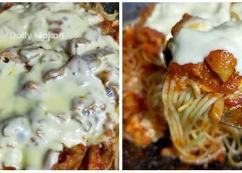Spaghetti Bolognese Mushroom