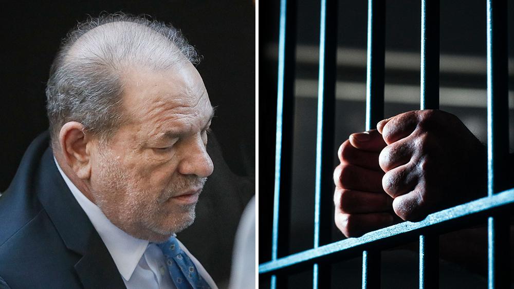 Jailed rapist Harvey Weinstein