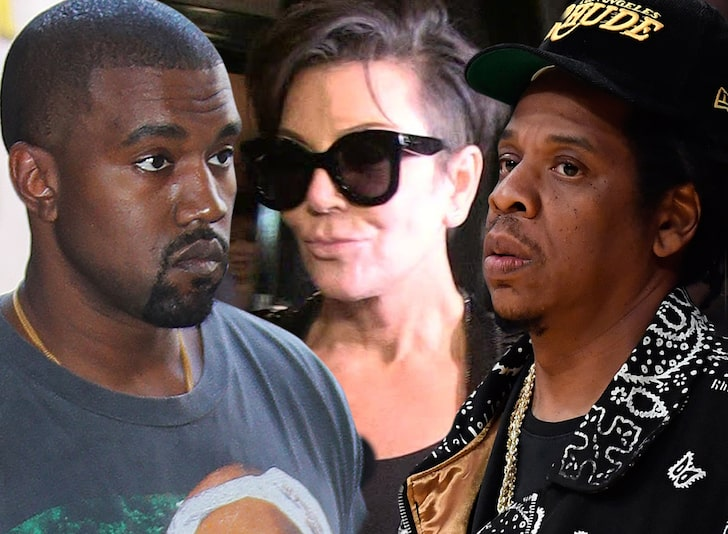 Kanye West says he misses Jay-Z, pays homage to Kris Jenner