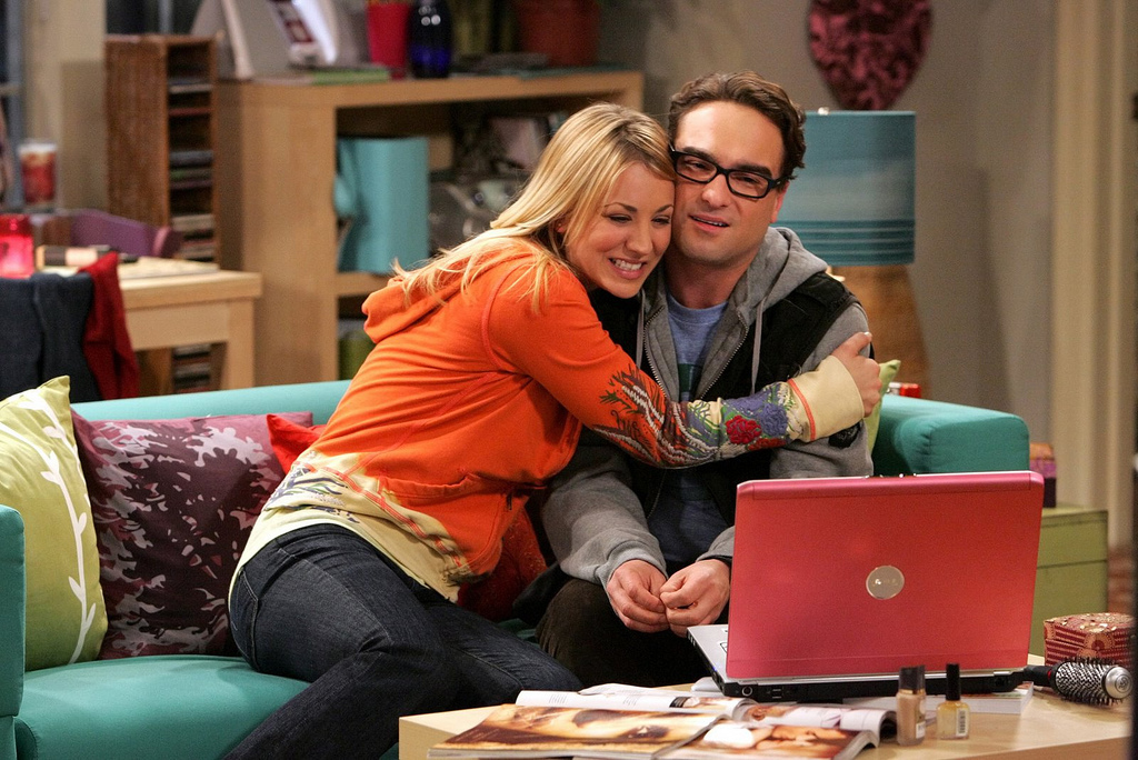 Big Bang Theory star Kaley Cuoco(Penny) has come out in the open addressing how hard it been for her filming sex scenes with her then ex-boyfriend Johnny Galecki (Leonard). (Picture by CBS)