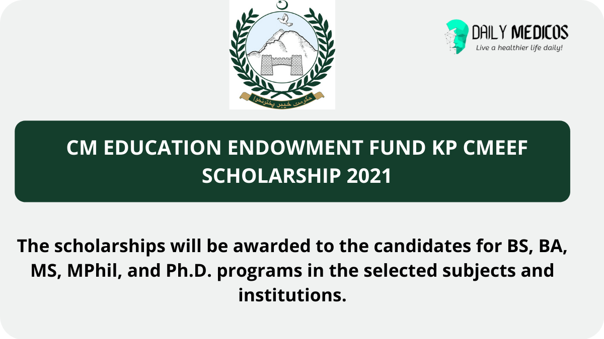 CM Education Endowment Fund KP CMEEF Scholarship 2021 1 - Daily Medicos