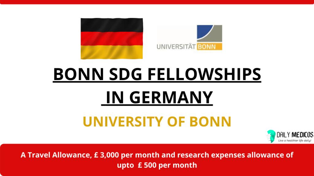 Bonn SDG Fellowships 2021 in Germany