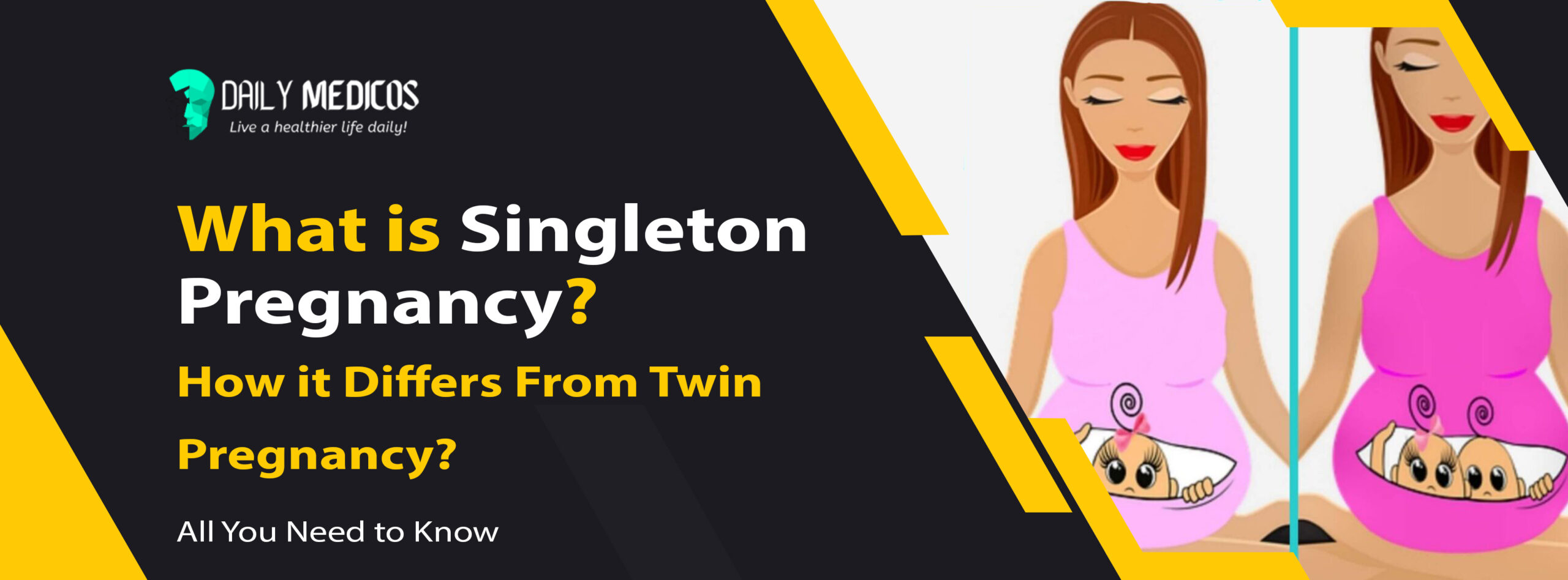What is Singleton Pregnancy and How it Differs From Twin Pregnancy? [All You Need to Know] 25 - Daily Medicos