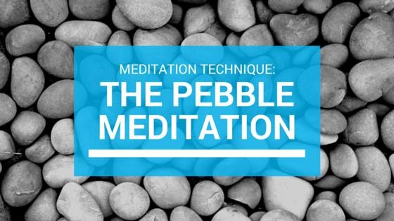 The Pebble Meditation Technique