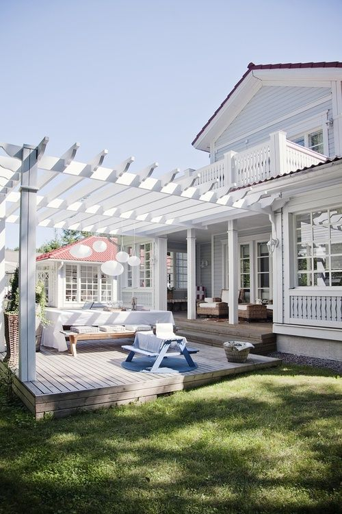 44 Amazing Ideas For Your Backyard Patio and Deck Space ... on Deck Inspiration  id=65324