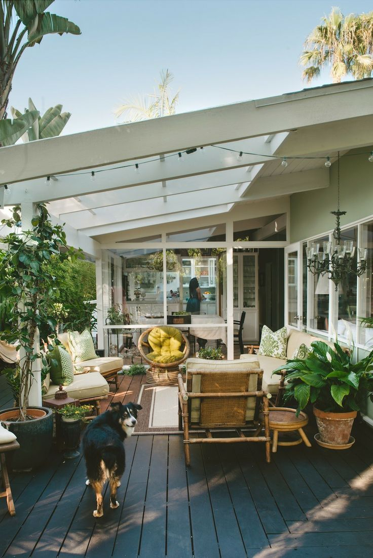 44 Amazing Ideas For Your Backyard Patio and Deck Space ... on Deck Inspiration  id=68172