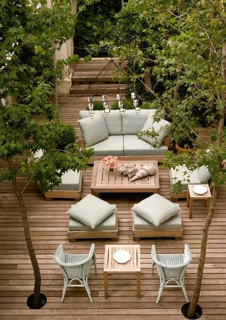 44 Amazing Ideas For Your Backyard Patio and Deck Space ... on Deck Inspiration  id=82371