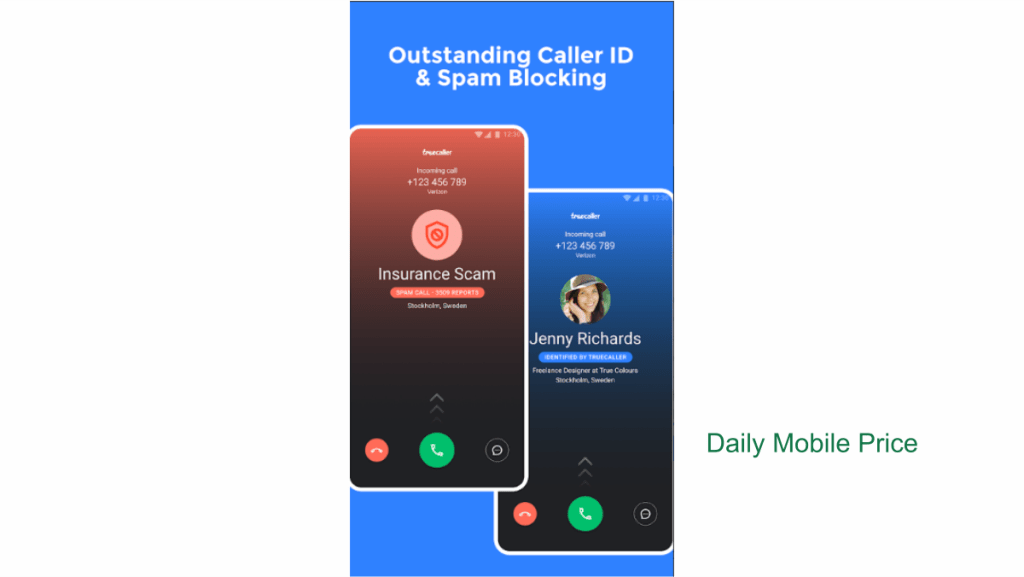 Truecaller Phone Caller ID Spam Blocking and Chat