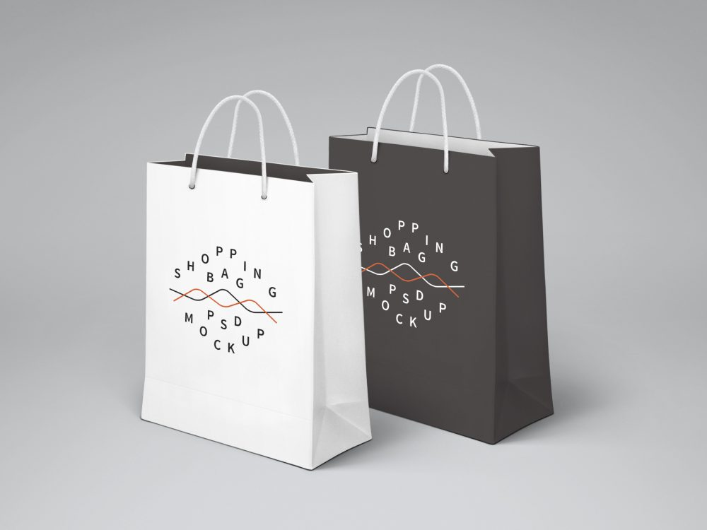 Download Free Shopping Paper Bag Mockup PSD 2020 - Daily Mockup