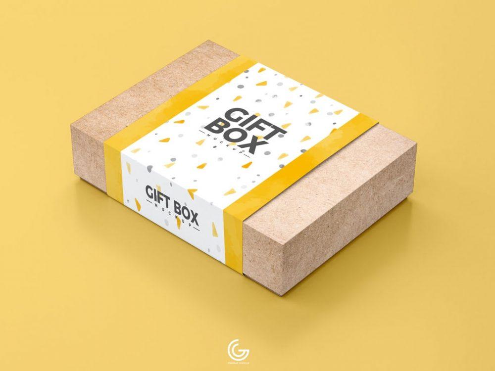 Download Free Gift Box Mockup PSD 2020 - Daily Mockup