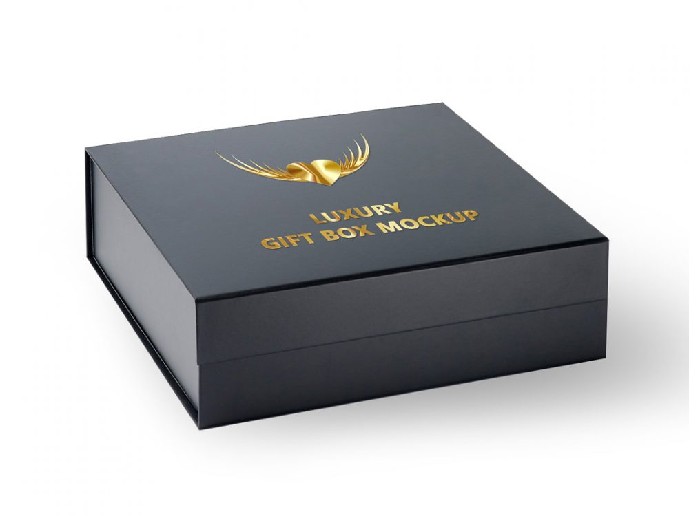 Download Free Gift Box Mockup PSD Template 2020 - Daily Mockup