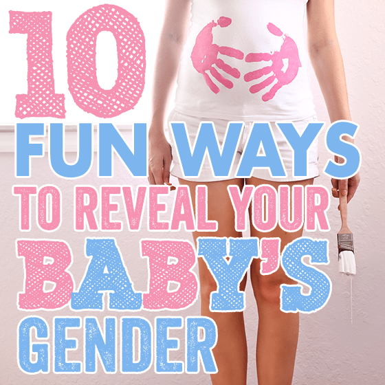 10 Fun Ways to Reveal Your Baby's Gender » Daily Mom