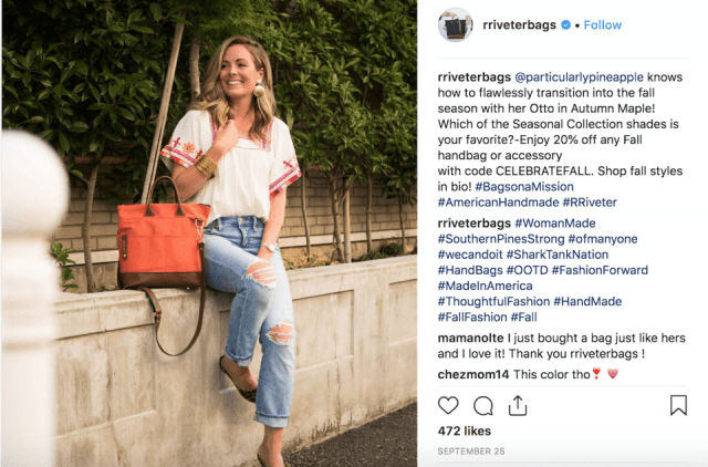handbag day - instagram