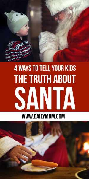 Daily Mom Parent Portal Truth about Santa