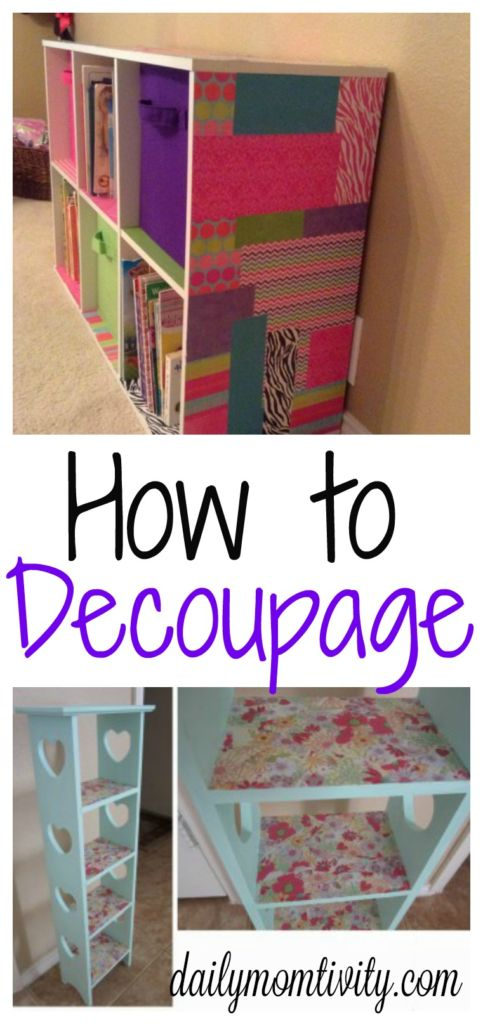 A simple introduction to DIY decoupage https://dailymomtivity.com